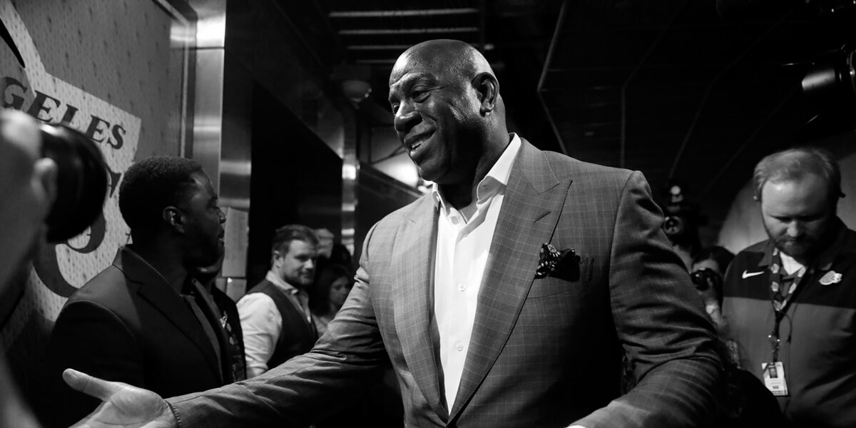 Earvin 'Magic' Johnson